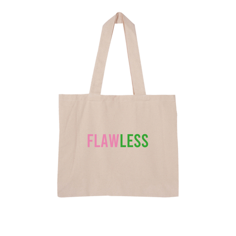 Flawless Large Organic Tote Bag