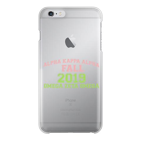 Fall 2019 Back Printed Transparent Hard Phone Case