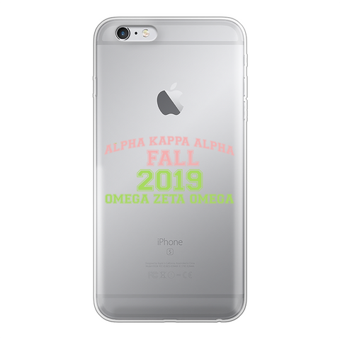 Fall 2019 Back Printed Transparent Soft Phone Case