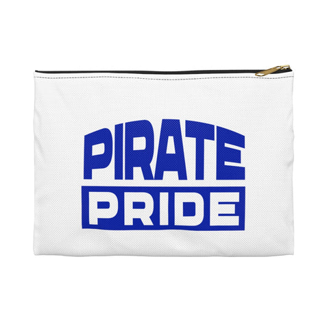Pirate Pride | Hampton University | Accessory Pouch - We Wear Our HBCUs