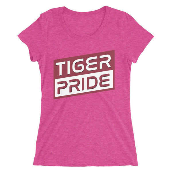 Tiger Pride Texas Southern University Bella Ladies' Short Sleeve T-shirt - We Wear Our HBCUs