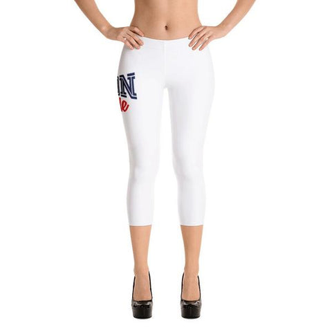 Howard University Bison Pride Capri Leggings For Fashion - We Wear Our HBCUs