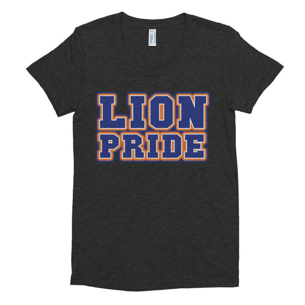 Lion Pride Lincoln University  Women's Crew Neck T-shirt - We Wear Our HBCUs