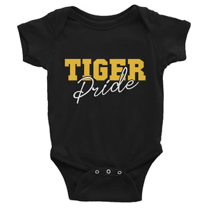 Tiger Pride | Grambing State University | GSU HBCU Baby Infant Bodysuit With Short Sleeves - We Wear Our HBCUs