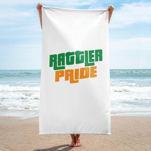 FAMU Florida A&M University | Rattler Pride | HBCU Towel For Home Or For The Beach - We Wear Our HBCUs