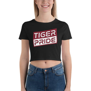 Tiger Pride Texas Southern University Women's Crop Tee - We Wear Our HBCUs