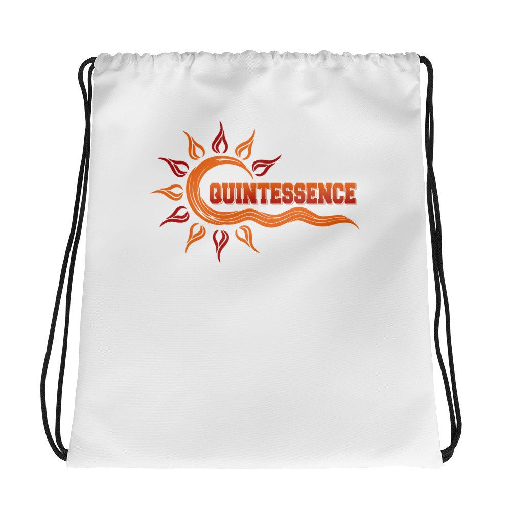 Quintessence | Hampton University | Class Name | Drawstring bag - We Wear Our HBCUs