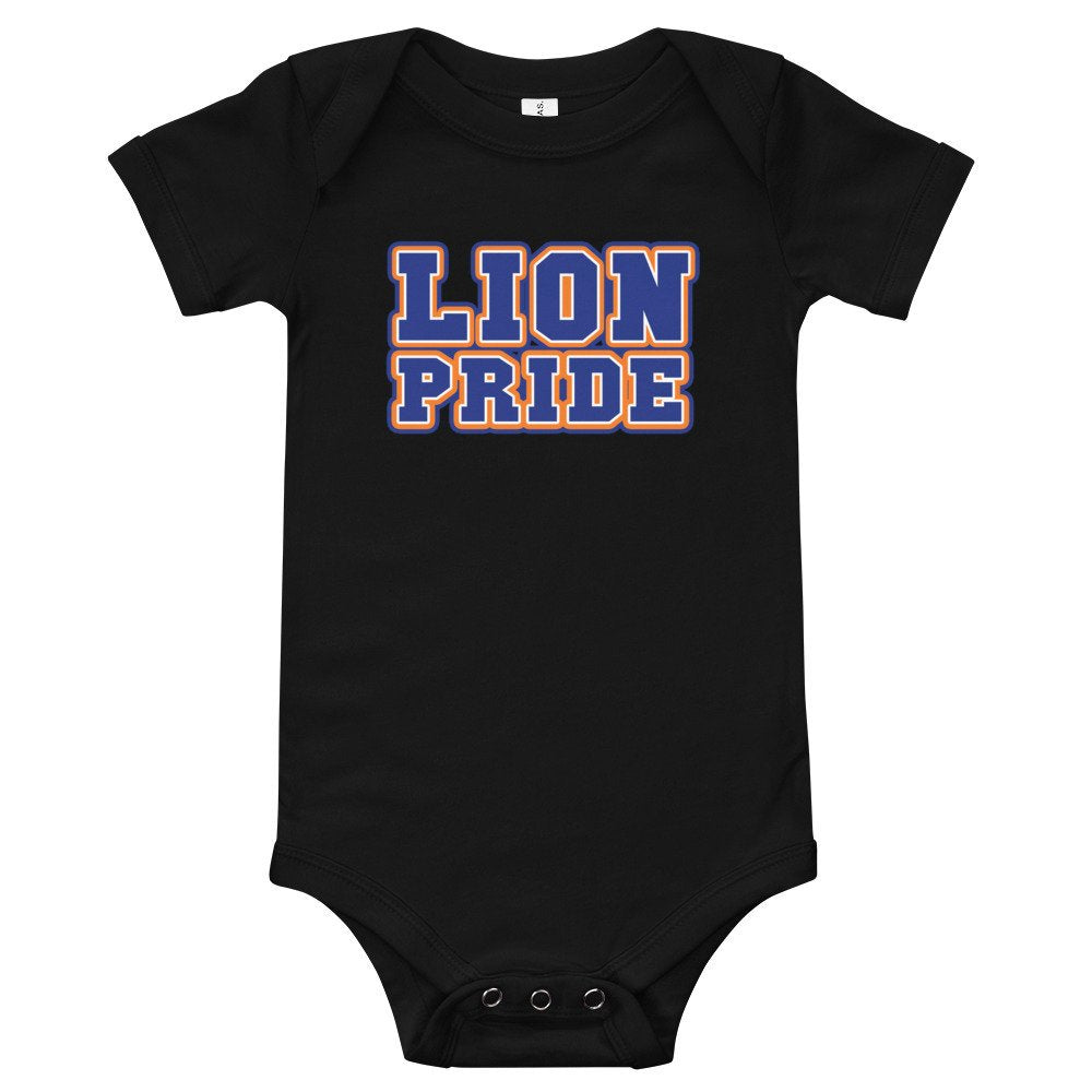 Lincoln University Lion Pride Infant Short Sleeved Baby Bodysuit - We Wear Our HBCUs