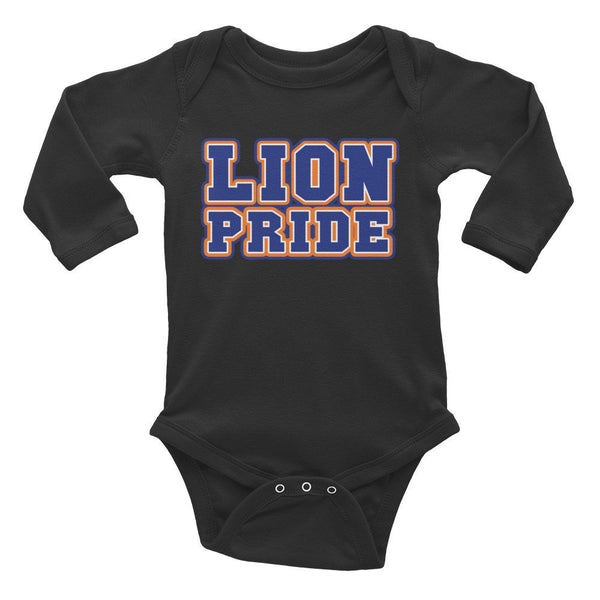 Lion Pride  Lincoln University  LU Babies  Infant Long Sleeve Bodysuit - We Wear Our HBCUs