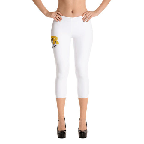Tiger Pride  Grambling State University  GSU Fashion HBCU Capri Leggings - We Wear Our HBCUs