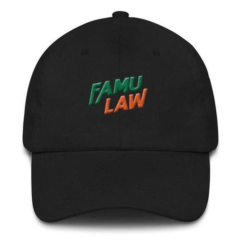 FAMU LAW Embroidered Classic Dad Cap - We Wear Our HBCUs