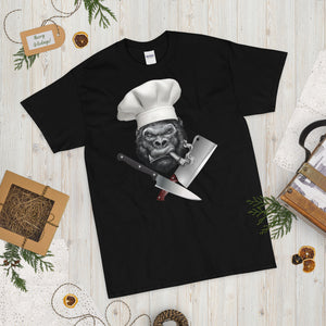 Gorilla Chef Short Sleeve T-Shirt up to 5xl