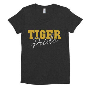 Tiger Pride Grambling State University Women's Tri-Blend Slim Fit T-Shirt - We Wear Our HBCUs