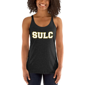 SULC | Southern University Law Center | Women's Form-Fitting Racerback Tank - We Wear Our HBCUs