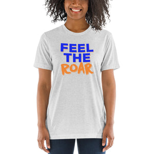 Lincoln University Feel The Roar Ladies' Soft Short sleeve t-shirt - We Wear Our HBCUs