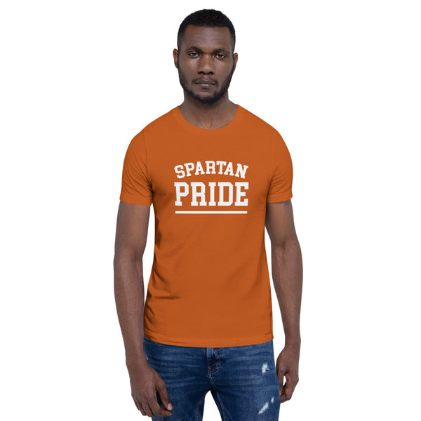 Norfolk State Spartan Pride Short-Sleeve Men's T-Shirt Unisex Premium T-Shirt - We Wear Our HBCUs