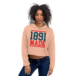 1891 Made Delaware State Crop Hoodie - We Wear Our HBCUs