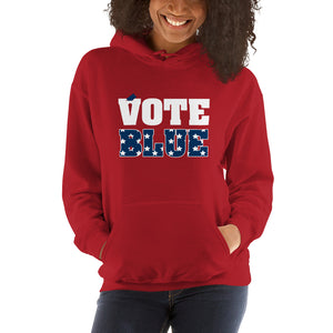 Vote Blue Womwn's Hoodie - We Wear Our HBCUs