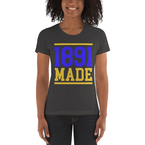 North Carolina A&T - 1891 Made Women's t-shirt - We Wear Our HBCUs
