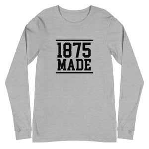 Alabama A&M 1875 Made Unisex Long Sleeve Tee - We Wear Our HBCUs