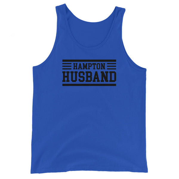 Hampton University Hampton Husband Men's Tank Top - We Wear Our HBCUs