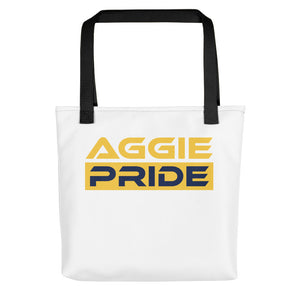 North Carolina A&T Aggie Pride Tote Bag - We Wear Our HBCUs