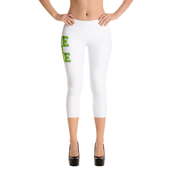 Ogre Phi Ogre | Hampton University | Class Name Capri Fashion Leggings - We Wear Our HBCUs