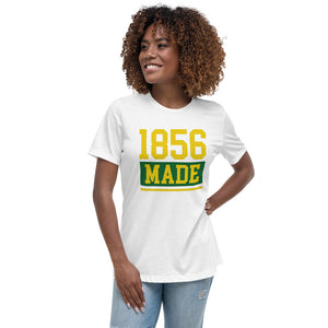 Wilberforce University 1856 Made Women's Relaxed T-Shirt - We Wear Our HBCUs