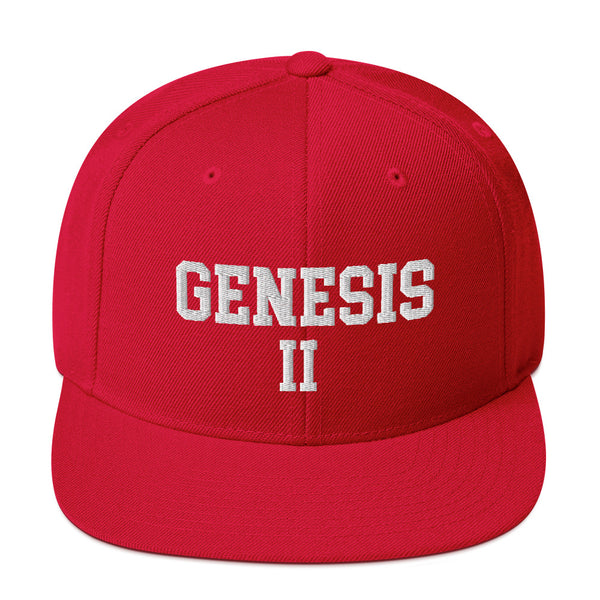 Hampton University Genesis II Snapback Hat - We Wear Our HBCUs