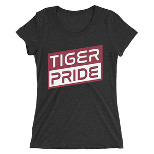 Tiger Pride Texas Southern University  Bella Ladies' Short Sleeve Triblend T-shirt - We Wear Our HBCUs