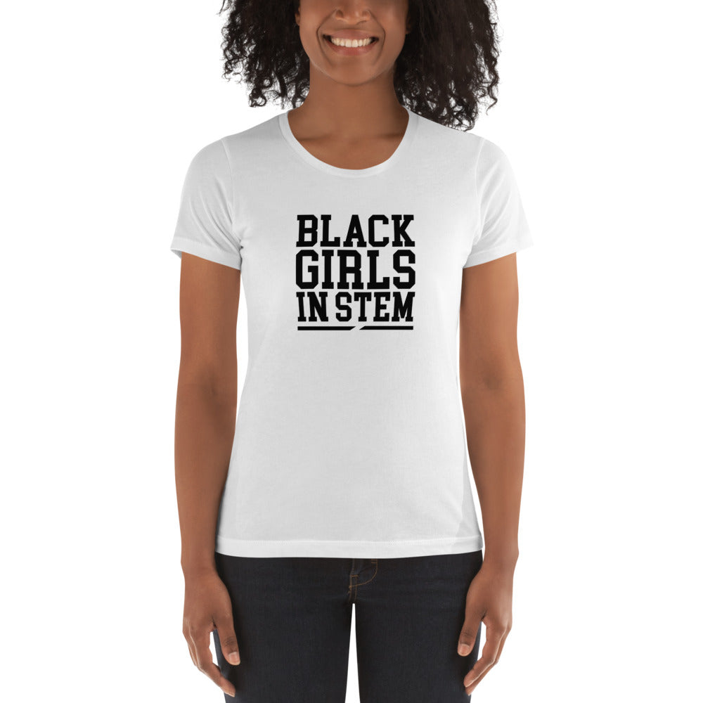 Black Girls In Stem Women's T-shirt - We Wear Our HBCUs