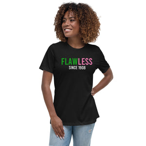 Flawless Since 1908 Women's Relaxed T-Shirt