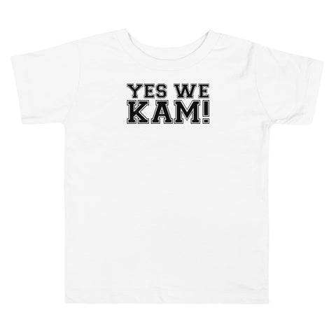 Yes We Kam Black Toddler Tee Upto 5T