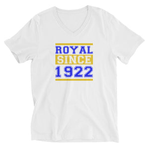 Royal Since 1922 Unisex V-Neck T-Shirt