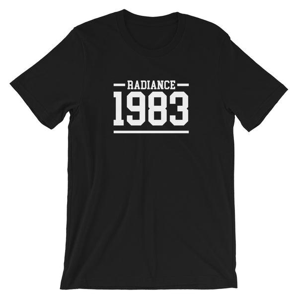Hampton University Radiance 1983 Basic Short-Sleeve Unisex T-Shirt - We Wear Our HBCUs