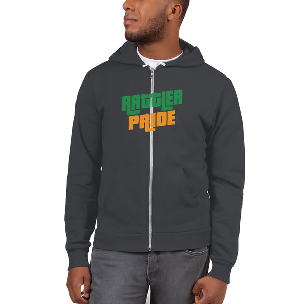 FAMU Rattler Pride Zip Up Men's Hoodie Sweater - We Wear Our HBCUs