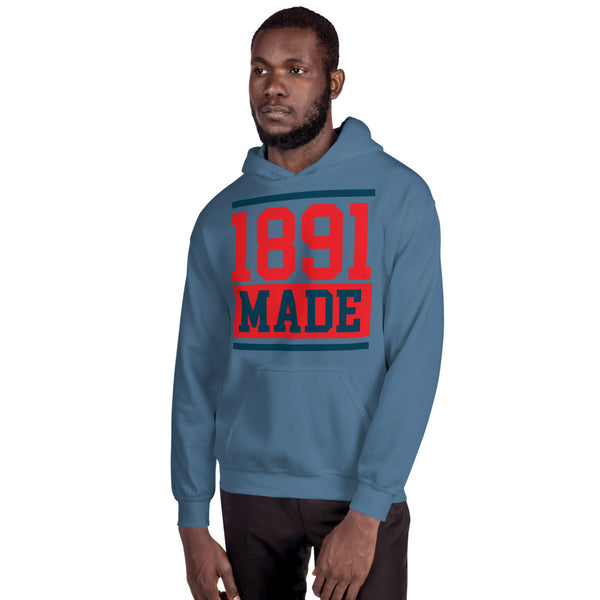 1891 Made Delaware State Unisex Hoodie - We Wear Our HBCUs