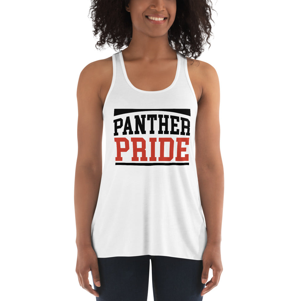 Panther Pride Claflin State University Women's Flowy Racerback Tank - We Wear Our HBCUs
