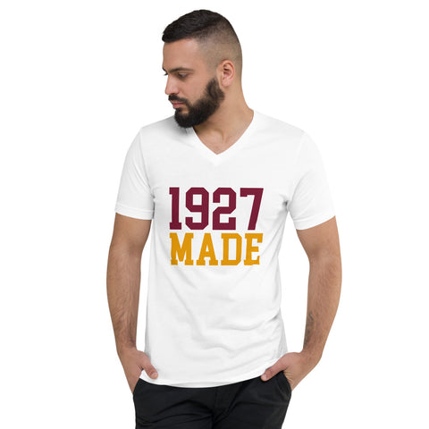 1927 Made Texas Southern Unisex V-Neck T-Shirt - We Wear Our HBCUs