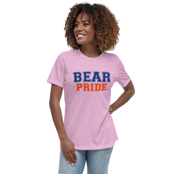 Morgan State University Bear Pride Women's Relaxed T-Shirt - We Wear Our HBCUs