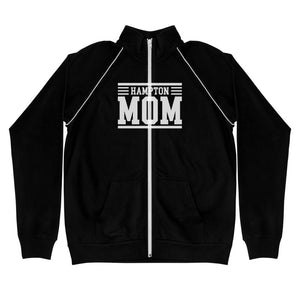 Hampton Mom Piped Fleece Jacket - We Wear Our HBCUs