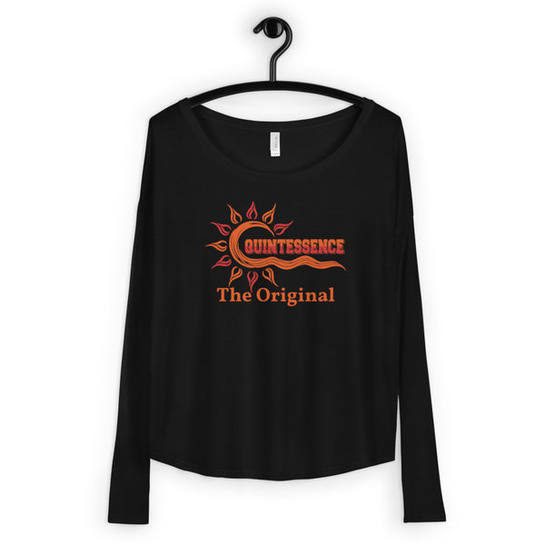 Hampton University QT The Original Ladies' Long Sleeve Tee - We Wear Our HBCUs