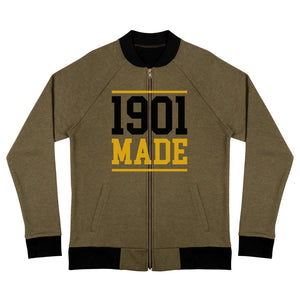 1901 MADE Grambling State University Bomber Jacket - We Wear Our HBCUs