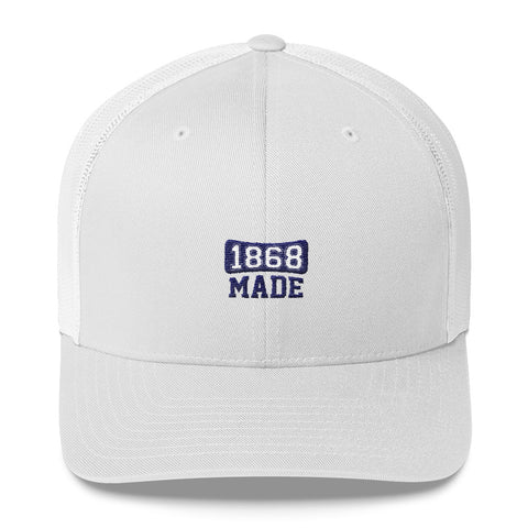 Hampton University 1868 Made  Trucker Cap - We Wear Our HBCUs