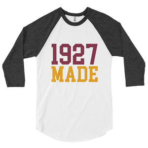 1927 Made Texas Southern Unisex Baseball Shirt - We Wear Our HBCUs