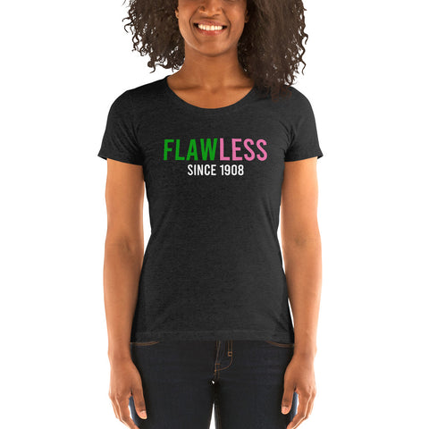 Flawless Since 1908 Ladies' Soft Form Fitting T-shirt