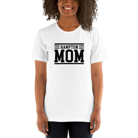 Hampton Mom Short-Sleeve Women's T-Shirt - We Wear Our HBCUs