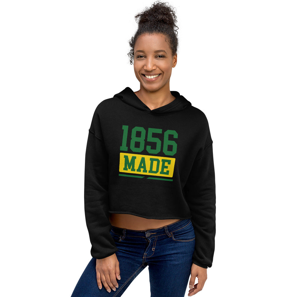 Wilberforce University 1856 Made Cropped Hoodie - We Wear Our HBCUs