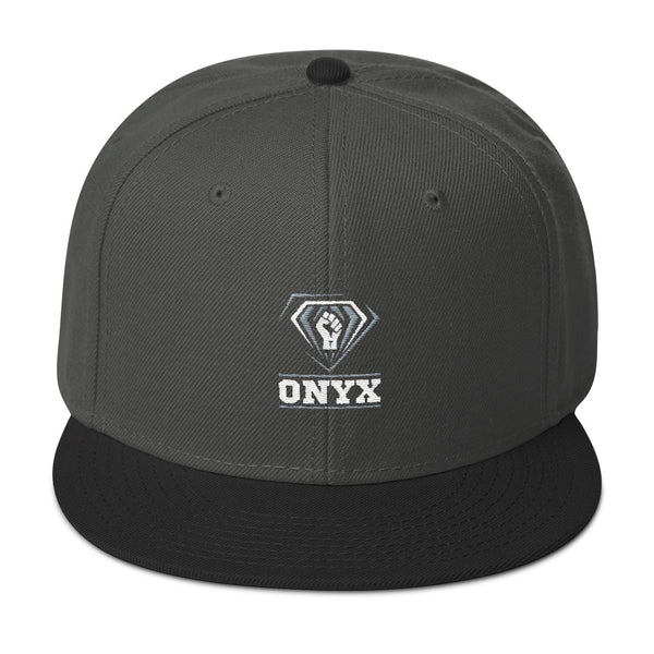 Onyx | Snapback Hat - We Wear Our HBCUs