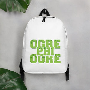 Hampton University Ogre Phi Ogre Minimalist Backpack